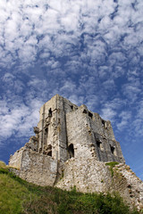 Castle / fort ancient ruins in Dorset, UK