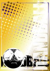 handball golden poster background 1