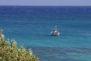Barque en Crète