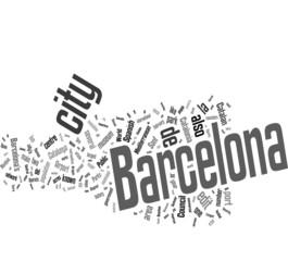 Barcelona word cloud