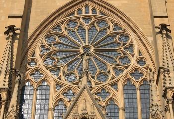 Rosace cathédrale Metz