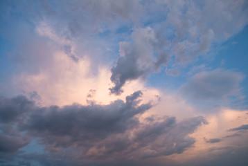 cielo mattutino