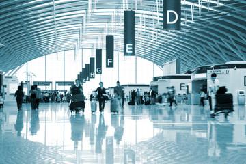 Fotobehang Luchthaven passenger