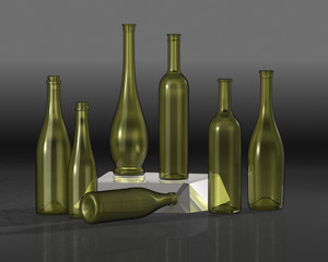 Bottles composition