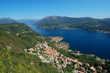 View on Orta Lake