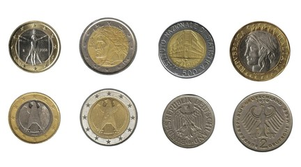 Germany and Italy: coins
