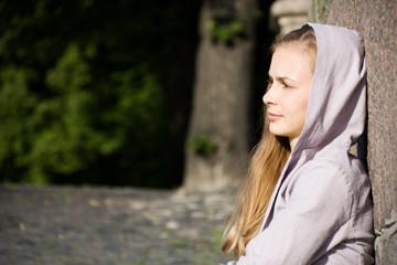Pensive Young Women