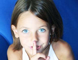 be quiet gesture