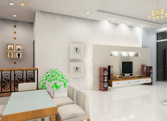 a living room decorate design