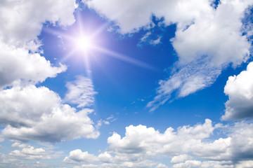 a very beautiful sunny sky background