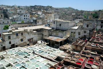 Fes tannerie