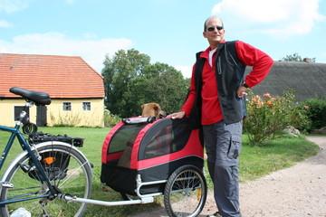 Thorsten und Nina auf Fahrradtour 4