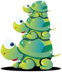かめ turtle