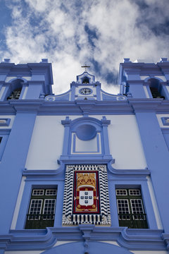 Famous church on Terceira island