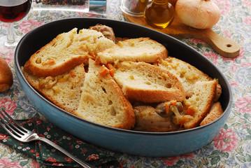 Sopa coada - Primi della cucina veneta