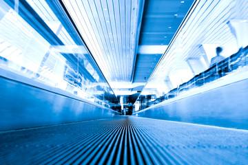Abstract move escalator