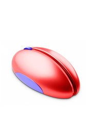 red pc mouse