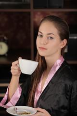 morgen mantel kaffee