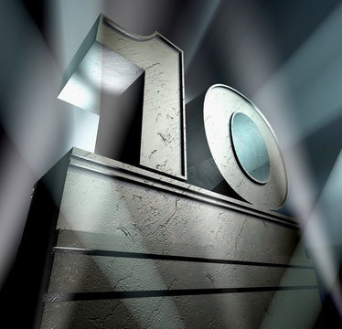 10 ten birthday monument anniversary