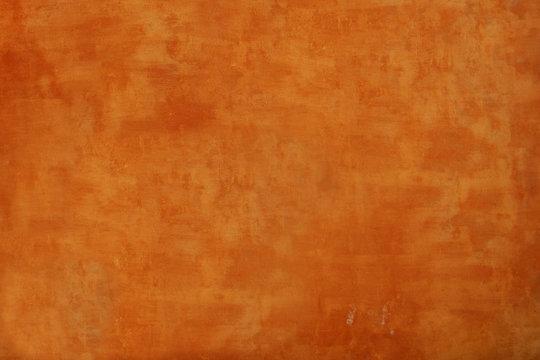 Textured orange wall background