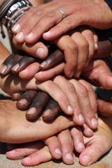 Racial hands