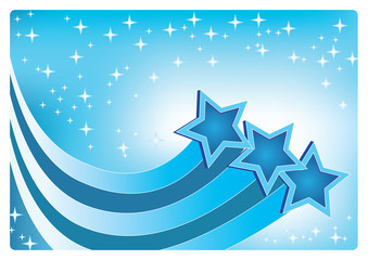 stars abstract background vector
