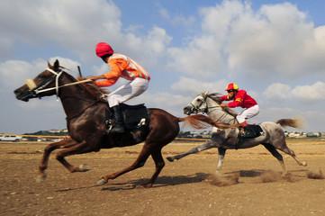 Horseracing, Kfar Kana, Israel