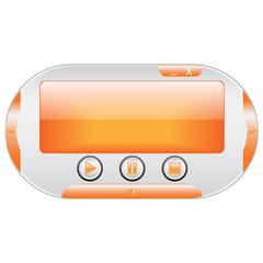 Multimedia player interface