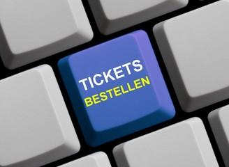 Im Internet Tickets bestellen