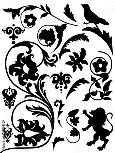 forms and decorative elements in renaissance The artists of the neo-renaissance style were inspired by both the motifs used in the renaissance style and decorative elements monumental and (forms / mail.