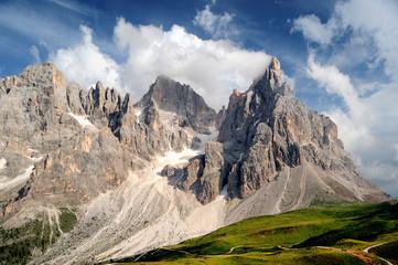 Montagna, Dolomiti, Alpi, Italia, Trentino, Cimon della Pala