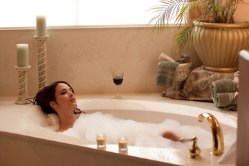 Relaxing with a BubbleBath