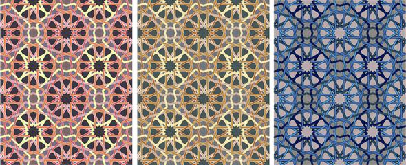 ornament of geometric pattern