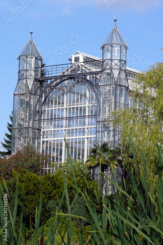 Gewächshaus Botanischer Garten Berlin Dahlem Stock Photo And