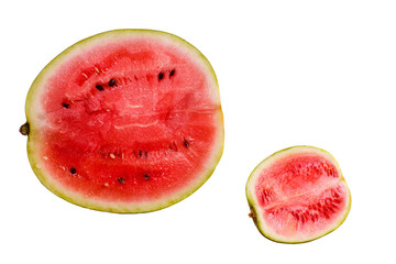 cut watermelons