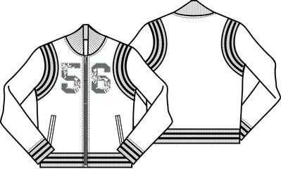 lady baseball style jacket