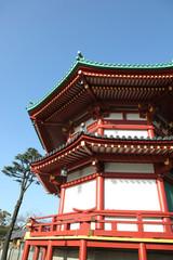 Japanese Pagoda - Tokyo