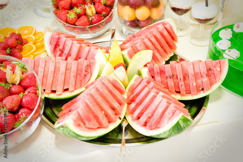 Catering Buffet Dekoration Stockfotos Und Lizenzfreie