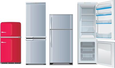different refrigerators