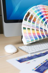 Designer bei der Arbeit