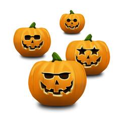 Halloween pumpkins calabazas