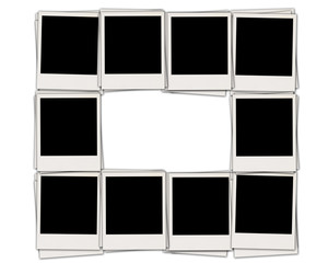 Frame of Blank Photos