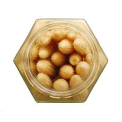 baby corn in a glass jar