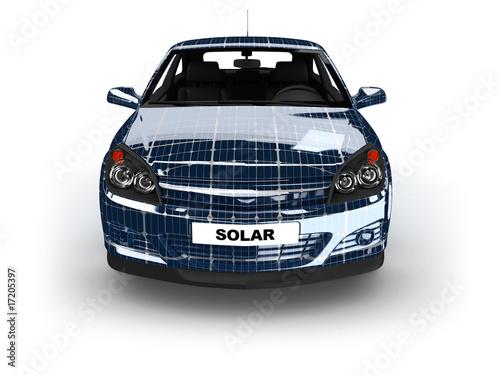solar auto stockfotos und lizenzfreie bilder auf bild 17205397. Black Bedroom Furniture Sets. Home Design Ideas