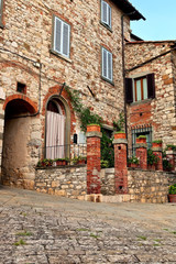 A stone bulit house at Chianti.