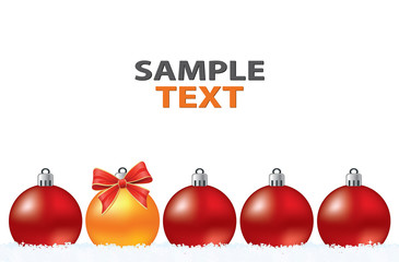 Christmas creative abstract greeting card