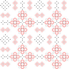 Seamless folk pattern.