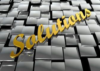 Solutions de oro