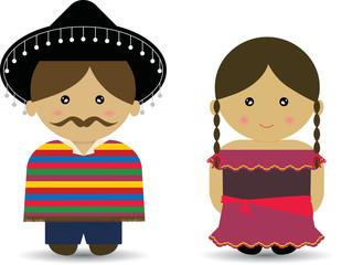 Mexican Boy & Girl
