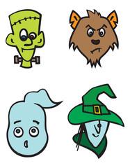 halloween characters 2